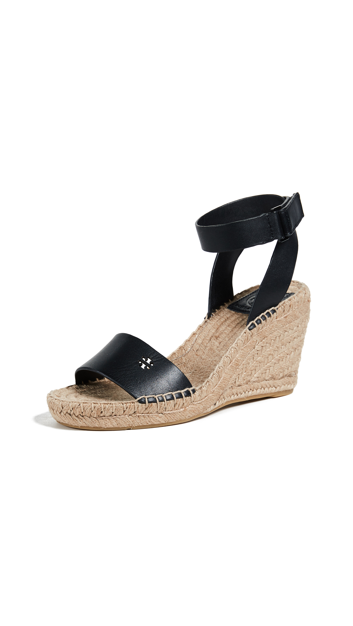 Tory Burch Bima 2 90mm Wedge Espadrilles - Perfect Black