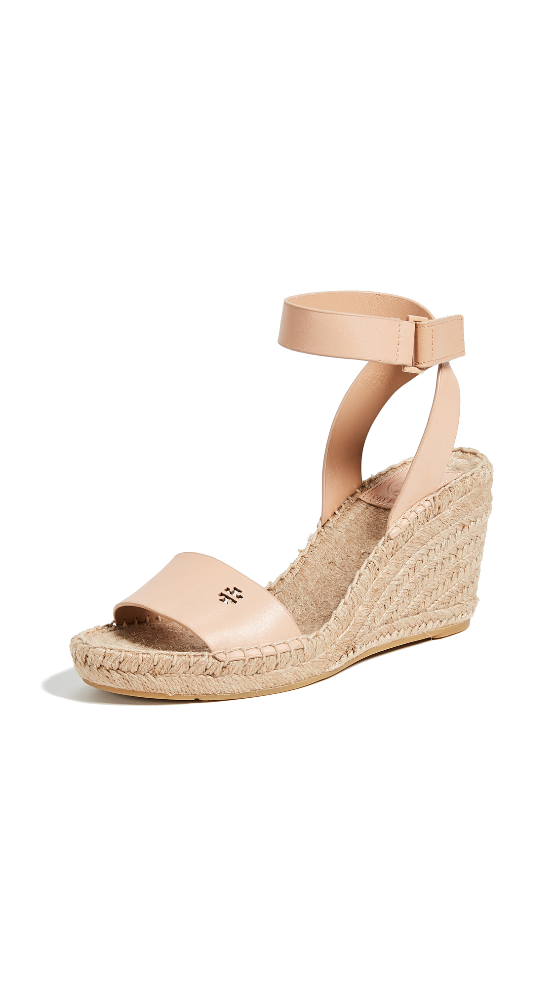 Tory Burch Bima 2 90mm Wedge Espadrilles - Natural