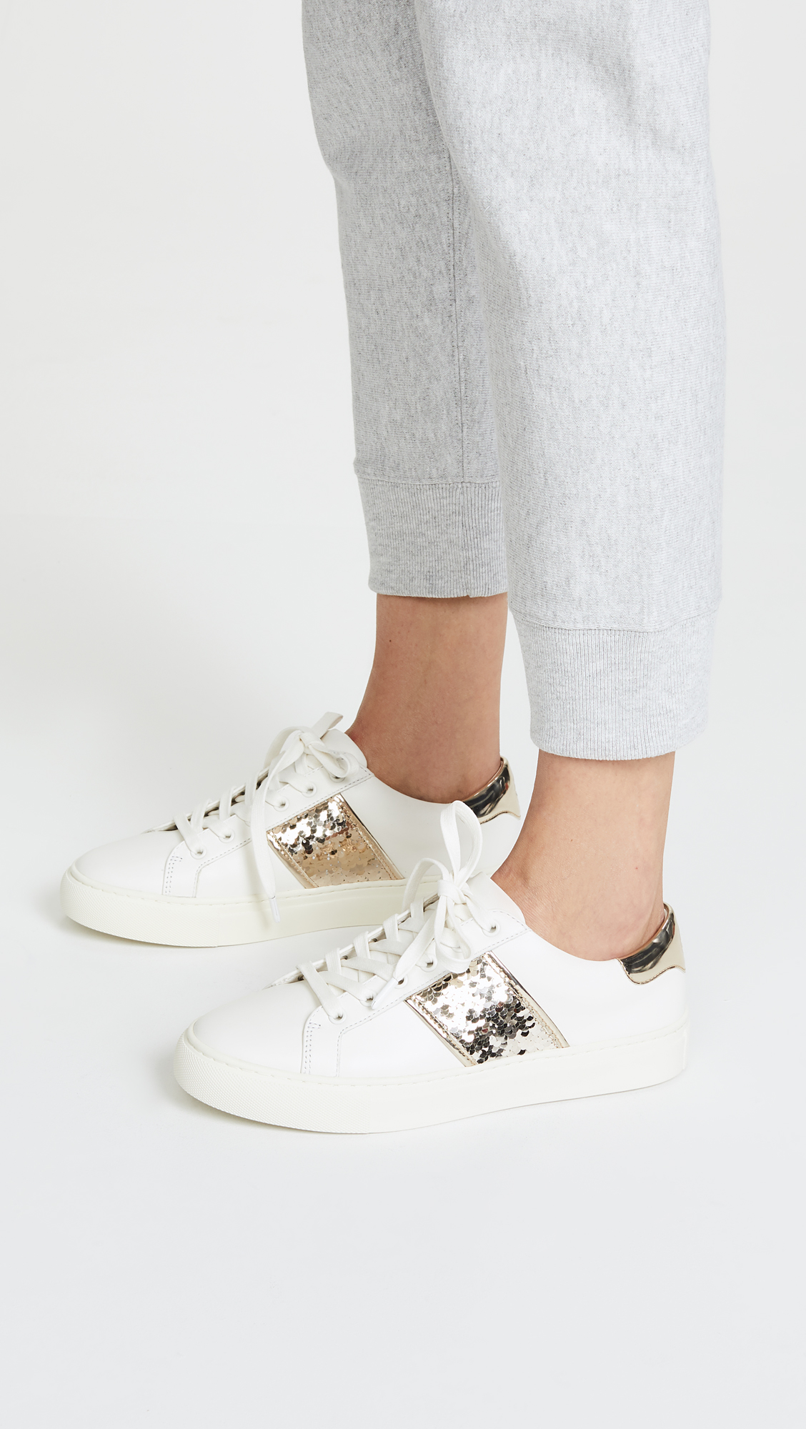 2de609f55db Tory Burch Carter Lace Up Sneakers