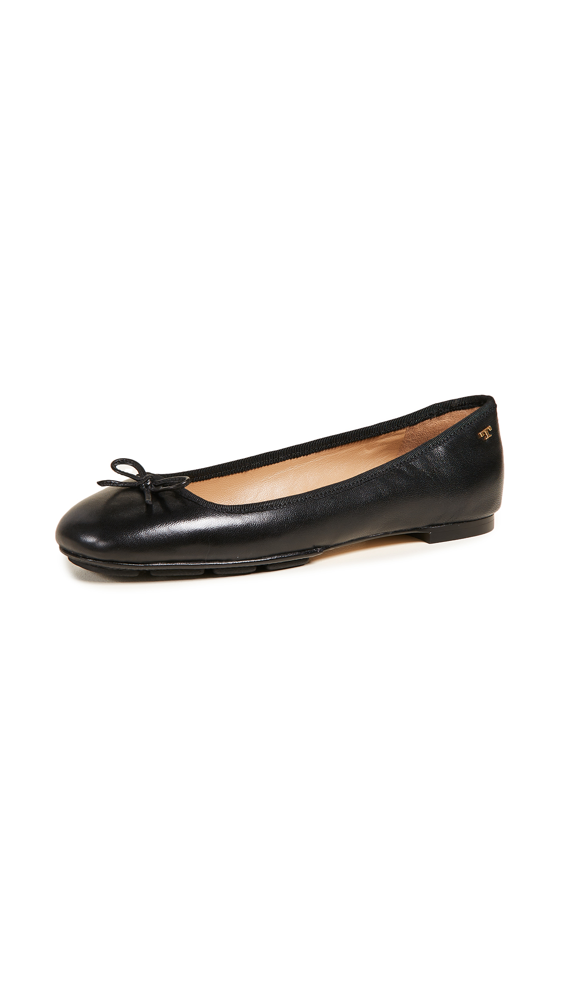 Tory Burch Laila 2 Driver Ballet Flats - Perfect Black/Perfect Black