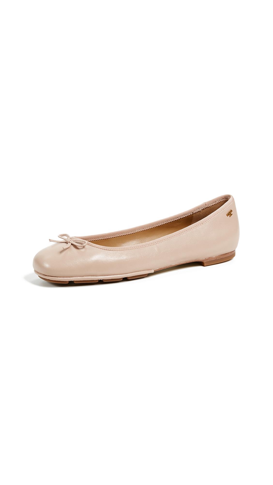 Tory Burch Laila 2 Driver Ballet Flats - Goan Sand/Goan Sand