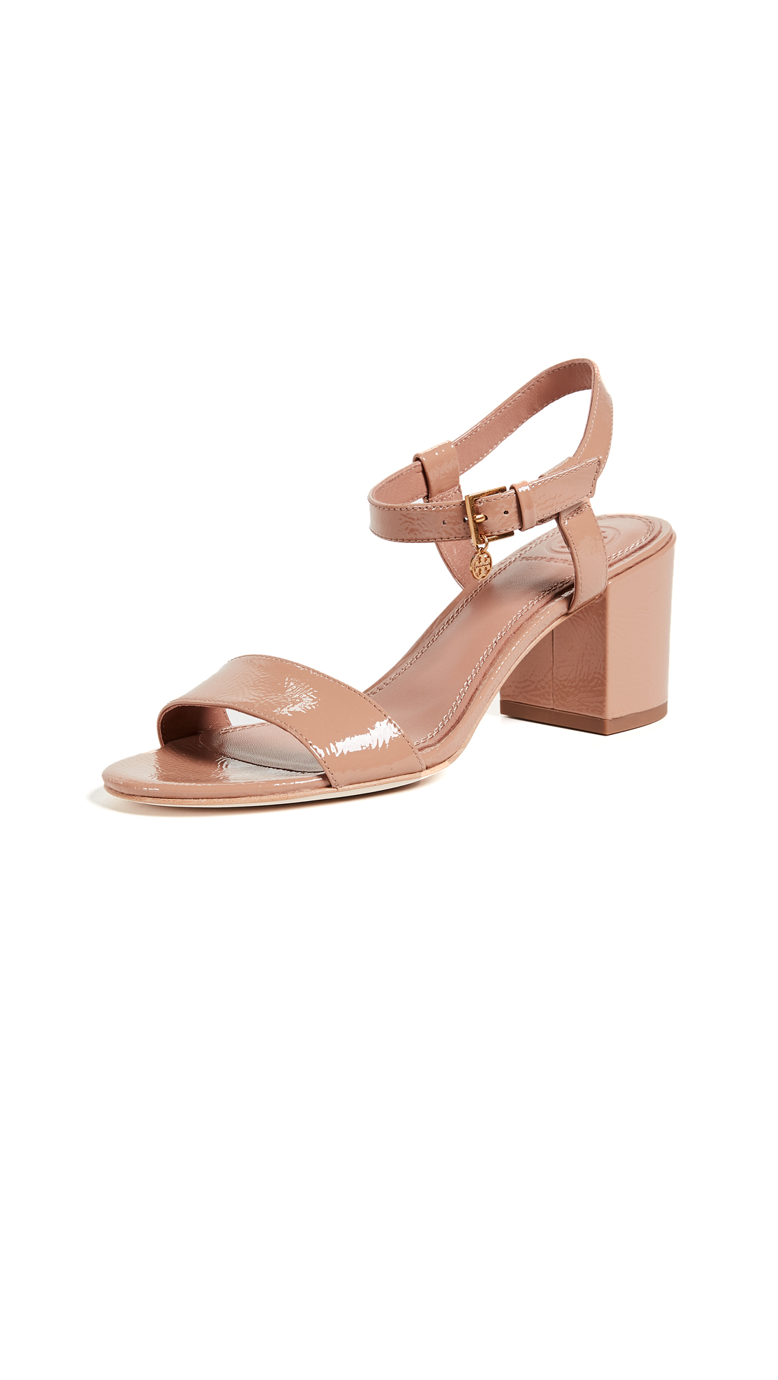 Tory Burch Laurel 65mm Ankle Strap Sandals - Makeup