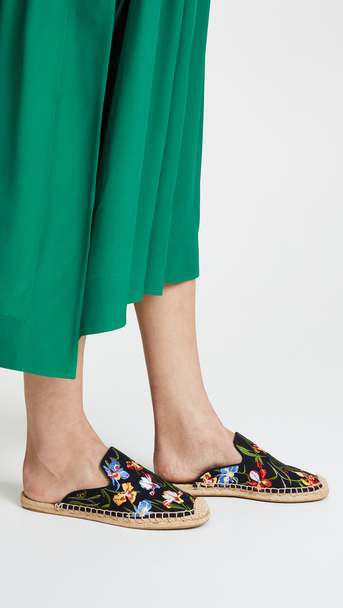 2535554f9 Tory Burch Max Embroidered Espadrille Slides | SHOPBOP