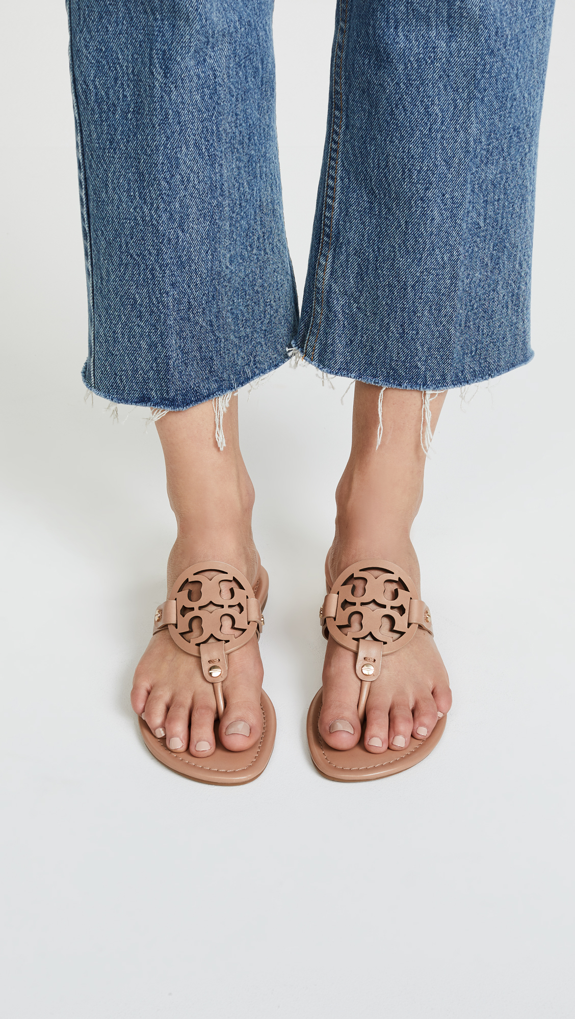 e2cd758bd17b1e Tory Burch Miller Thong Sandals