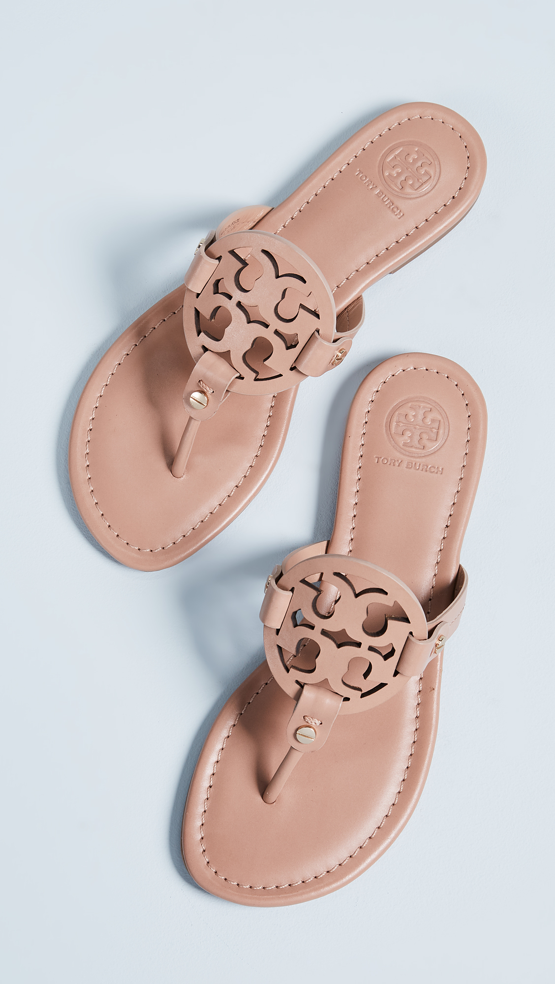 12befa52a5 Tory Burch Miller Thong Sandals | SHOPBOP