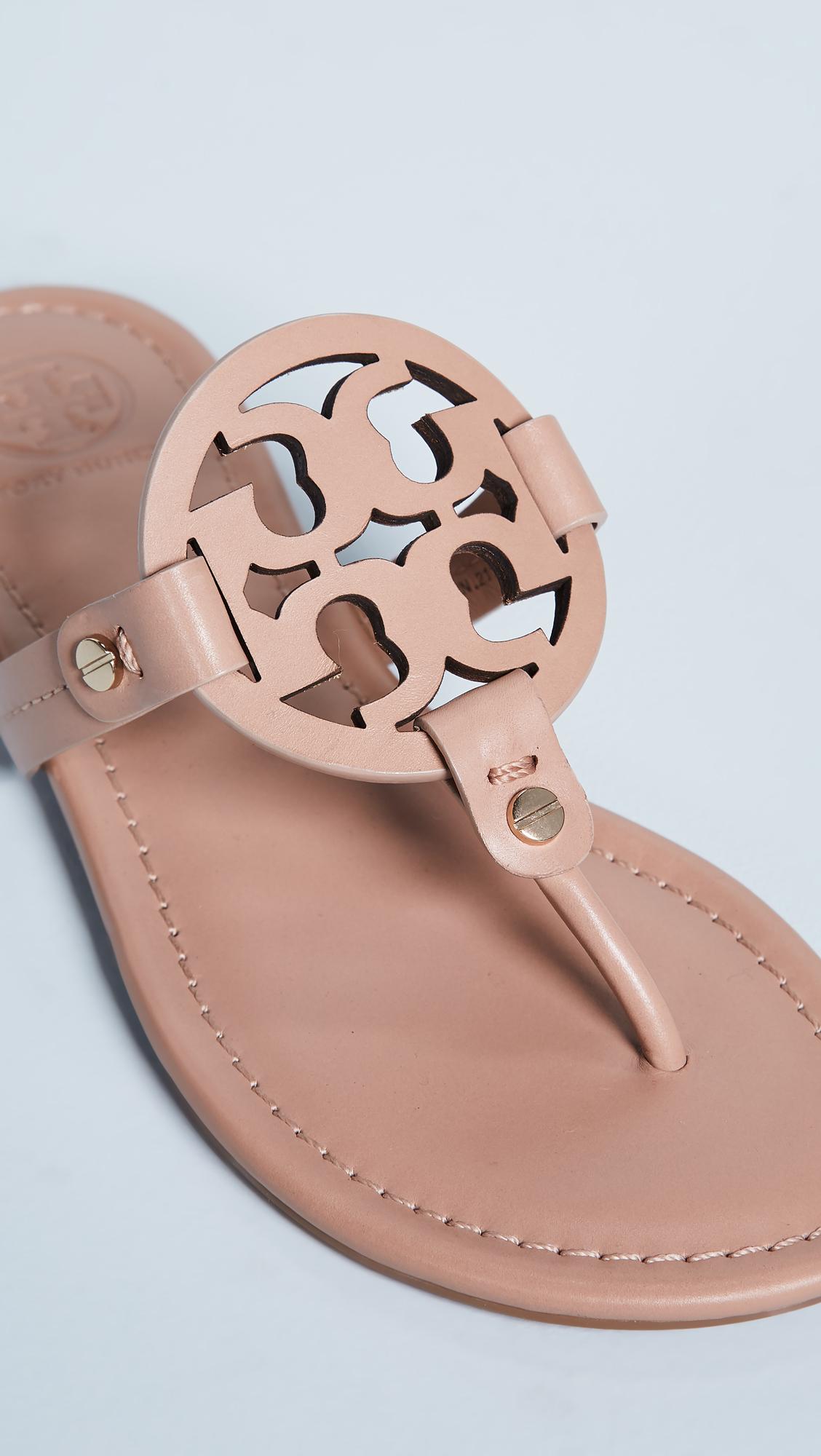 b5aa839d64555b Tory Burch Miller Thong Sandals