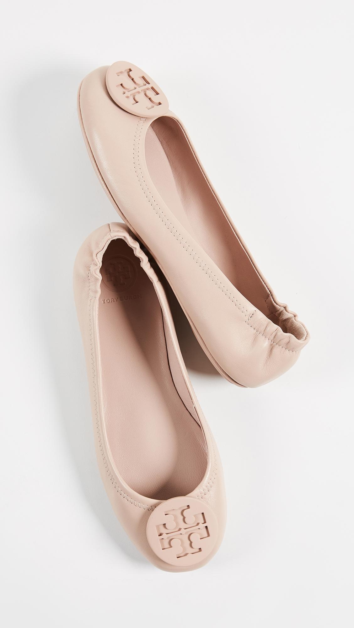 913bcc3baae Tory Burch Minnie Travel Ballet Flats