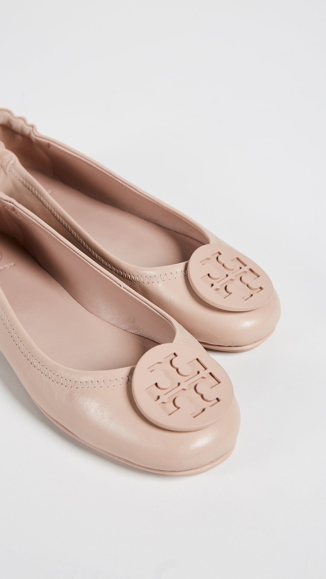 b32e63825 Tory Burch Minnie Travel Ballet Flats
