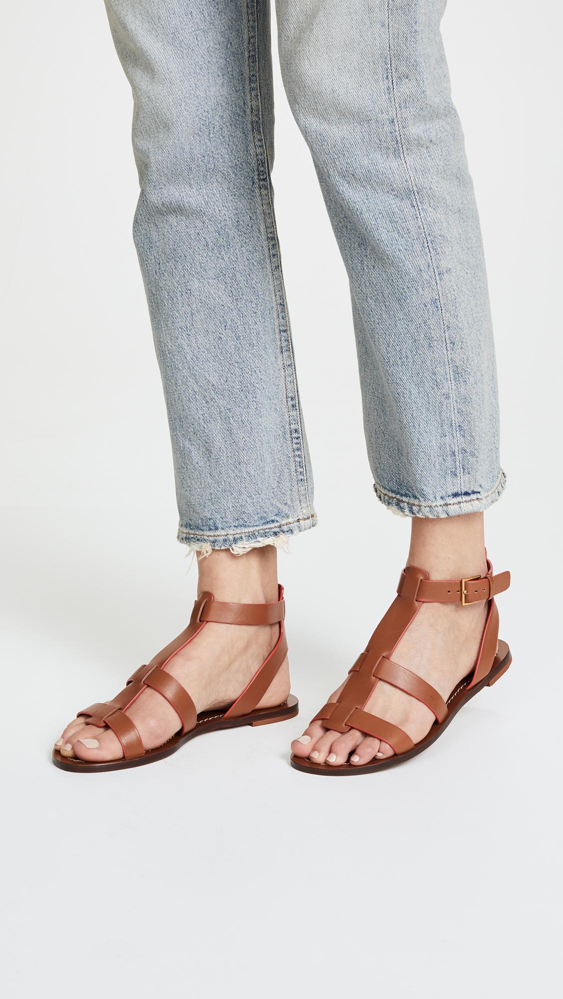 14e4b589efe Tory Burch Patos Gladiator Sandals