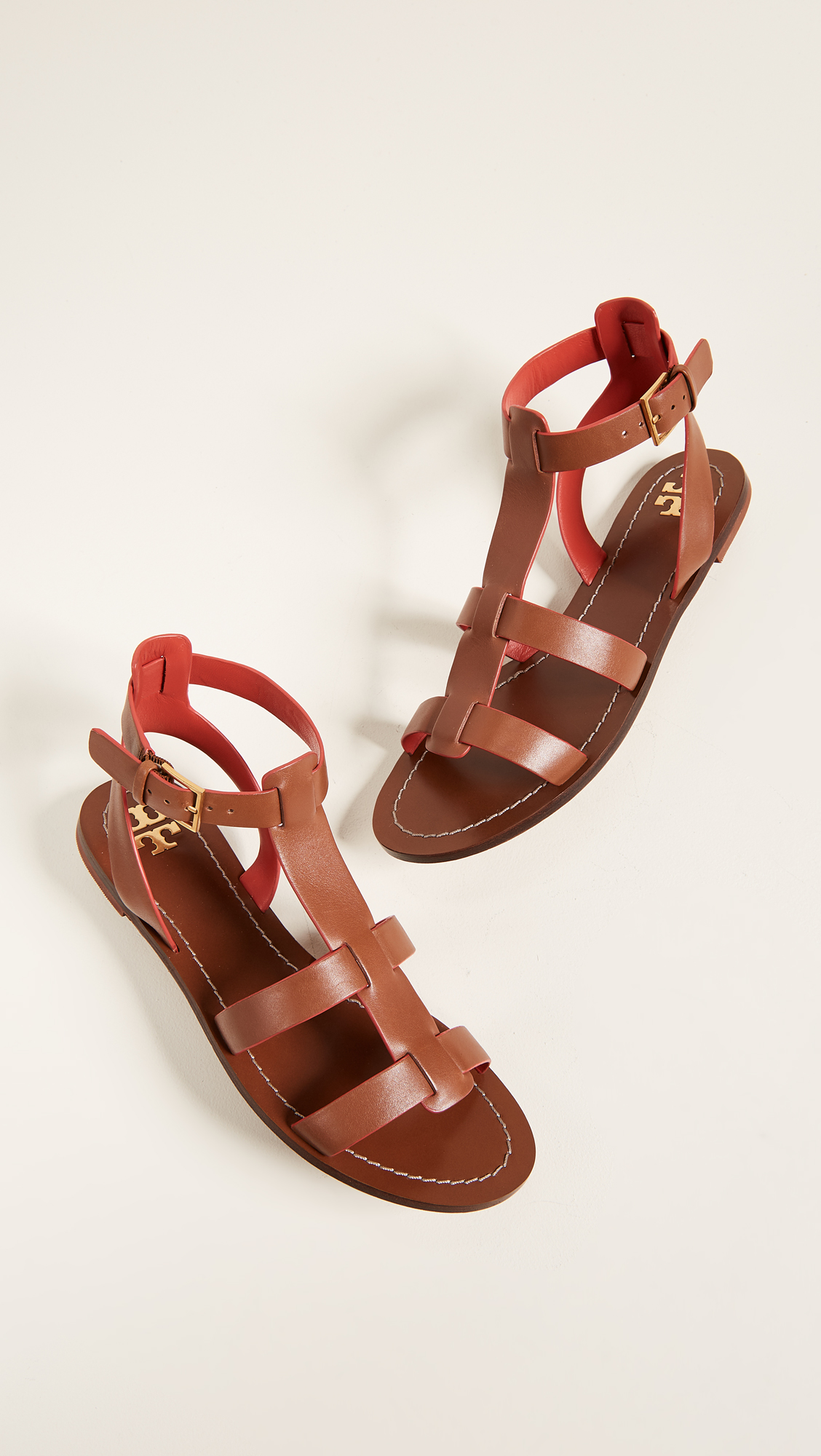 acd8b243260 Tory Burch Patos Gladiator Sandals