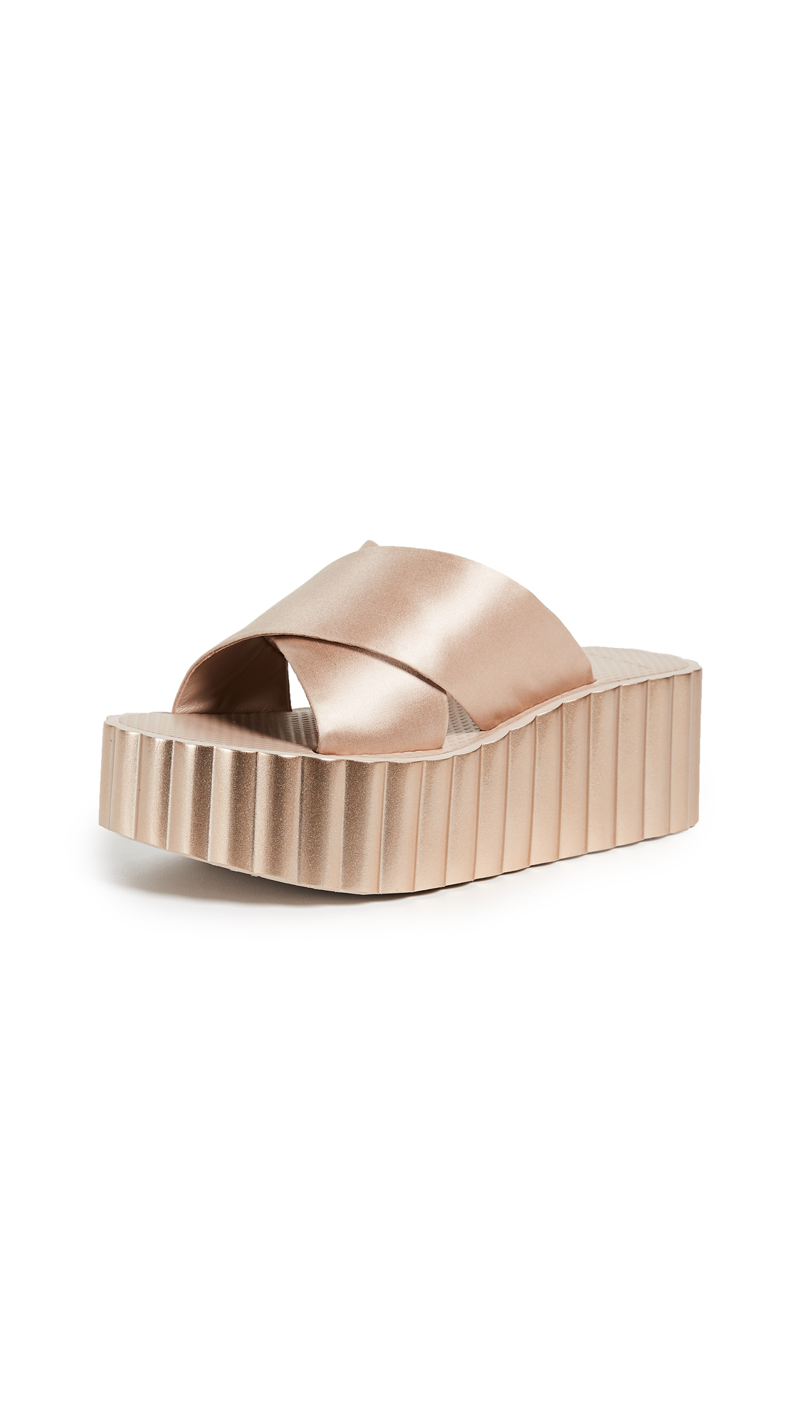 Tory Burch Scallop Wedge Flip Flop - Bellini Blush