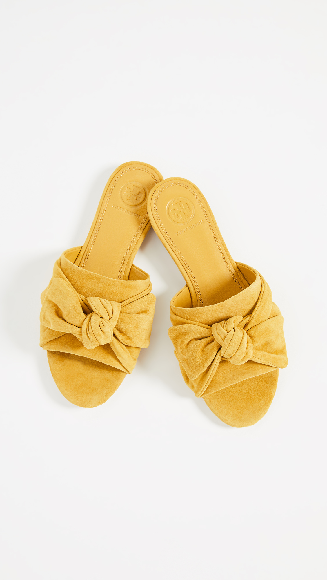 c33c663f631075 Tory Burch Annabelle Bow Slides