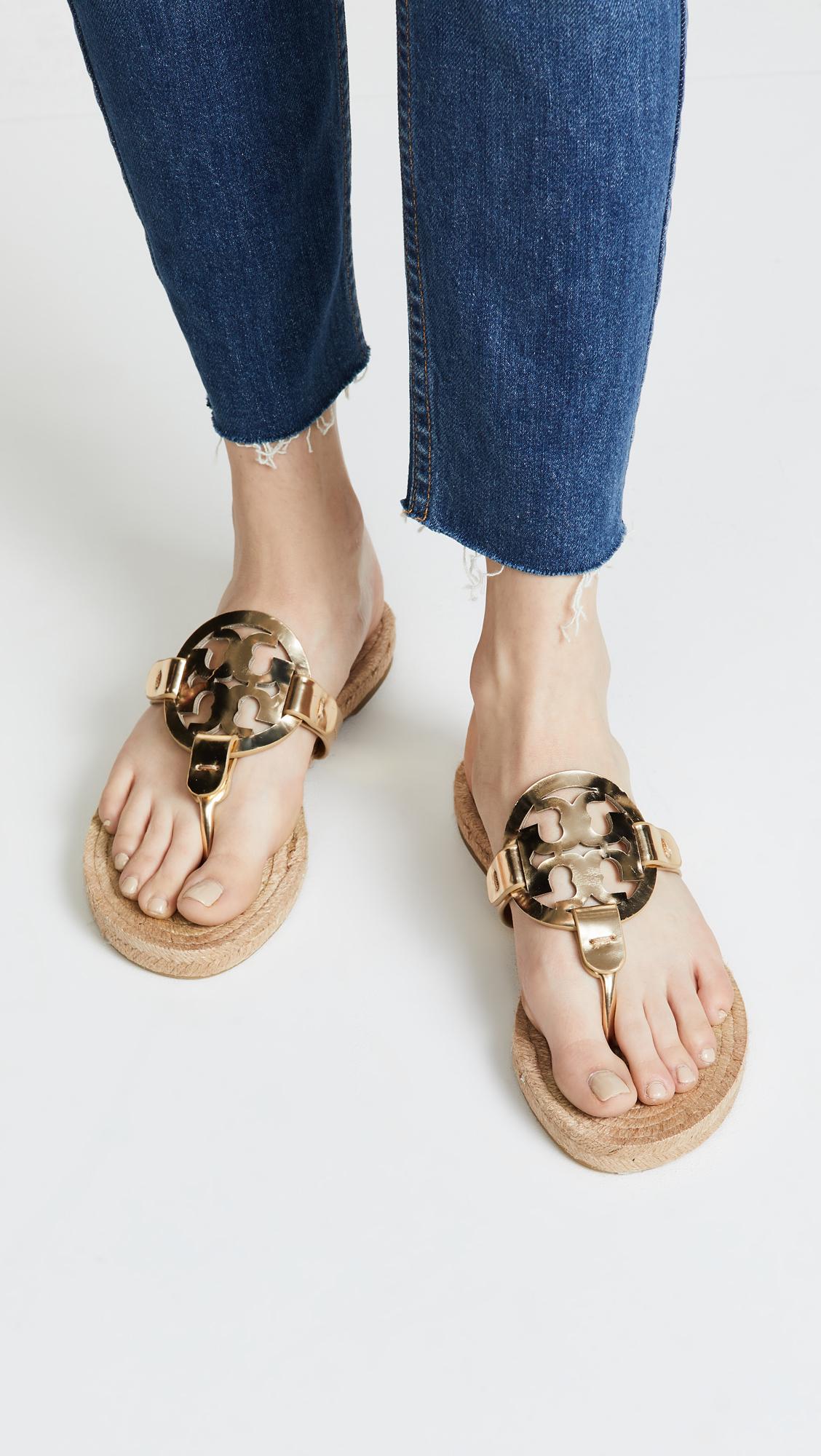 0e60a6fee Tory Burch Miller Espadrille Sandals | SHOPBOP