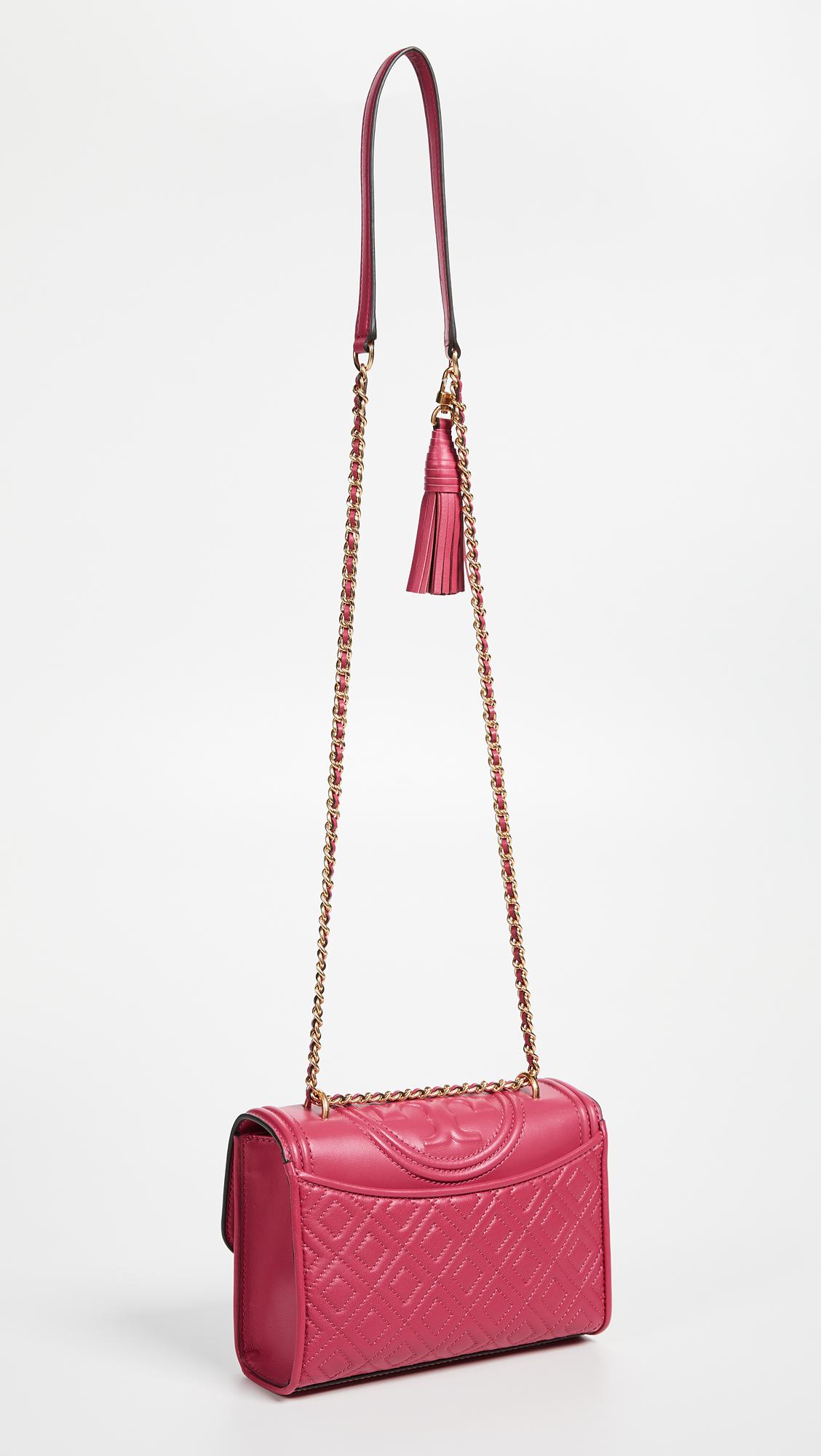85dde9ee969ed Tory Burch Fleming Small Convertible Shoulder Bag