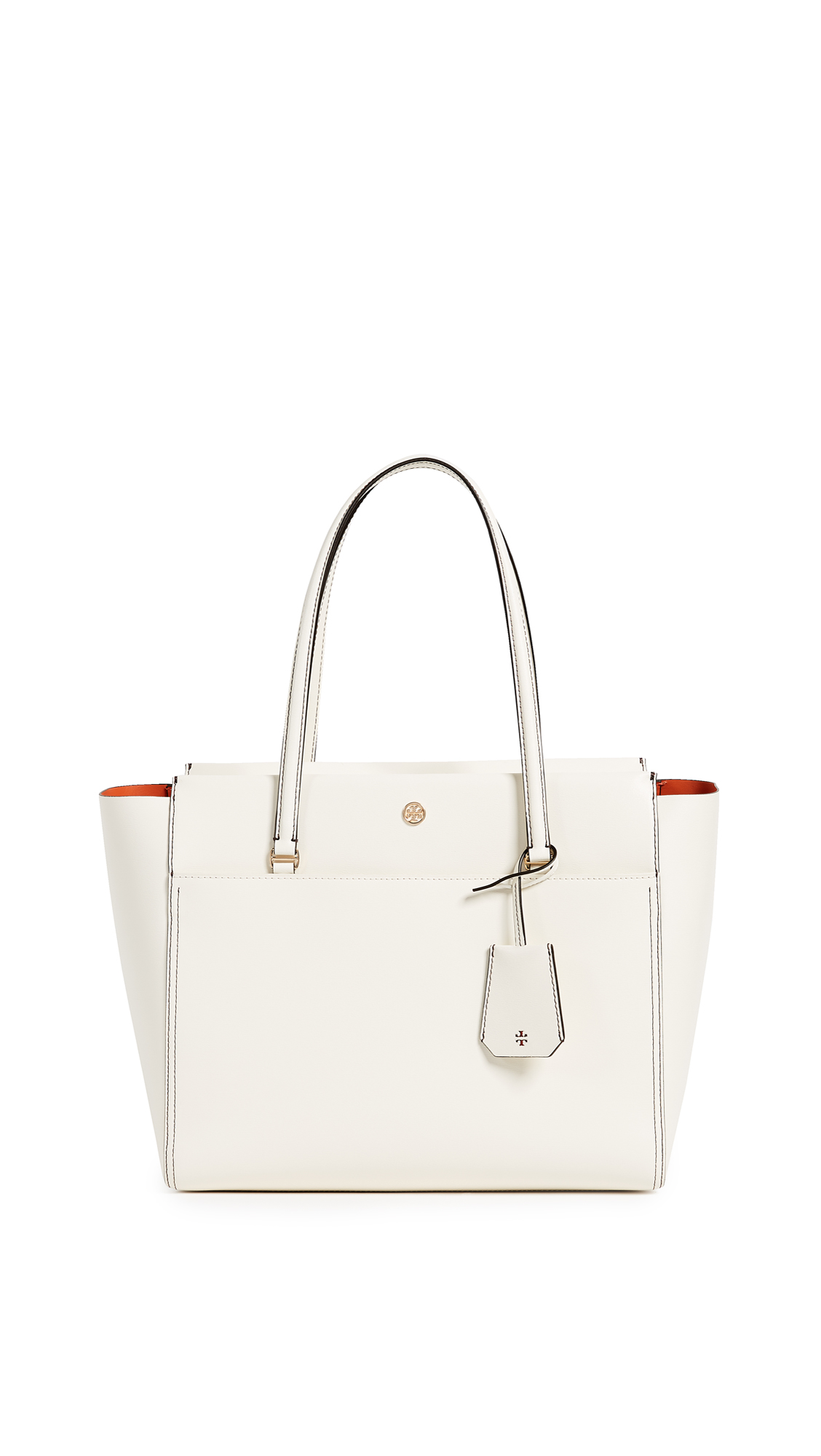 Tory Burch Parker Tote - New Ivory/Mango