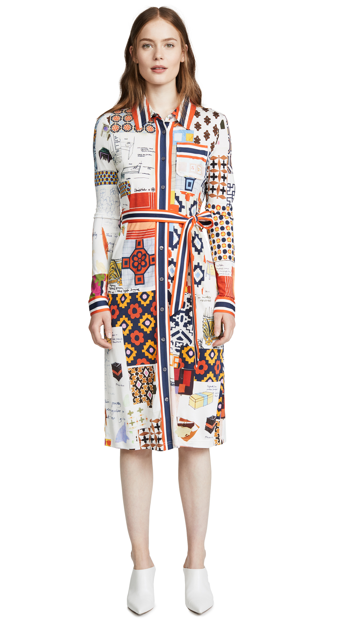 ff97b38bfa3 Tory Burch Laurence Shirt Dress