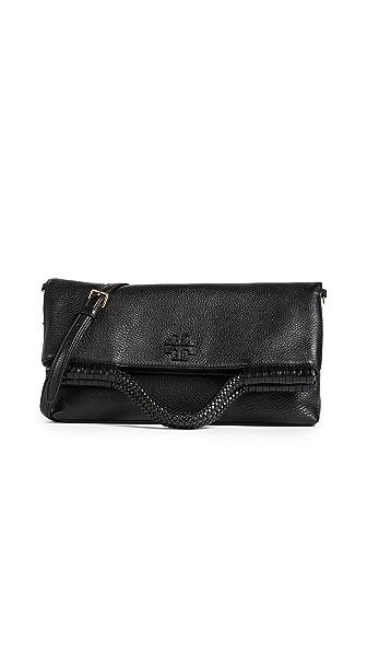 Tory Burch Taylor Convertible Bag In Black