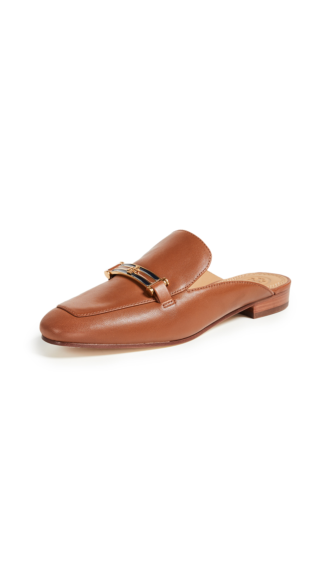Tory Burch Amelia Backless Loafers - Perfect Cuoio