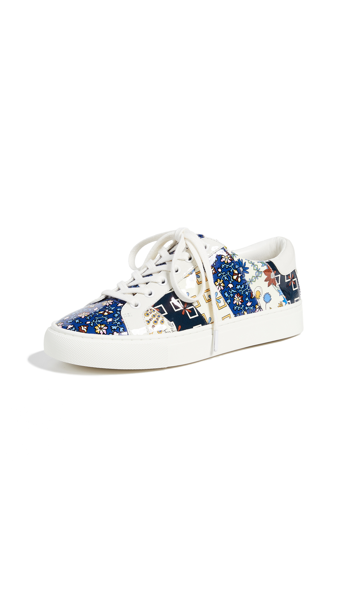 Tory Burch Ames Sneakers In Multi Print
