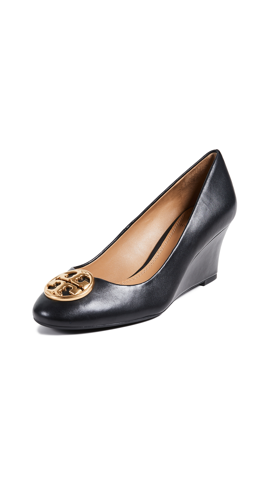 Tory Burch Chelsea 65mm Wedge Pumps - Perfect Black
