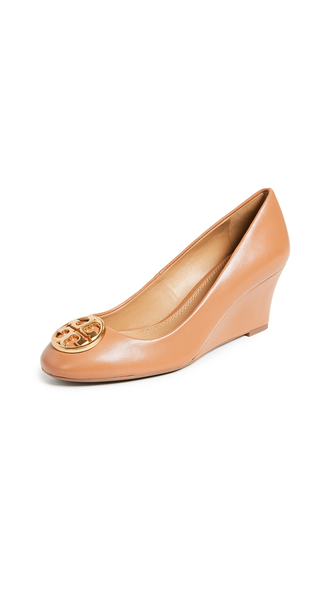 Tory Burch Chelsea 65mm Wedges - Tan