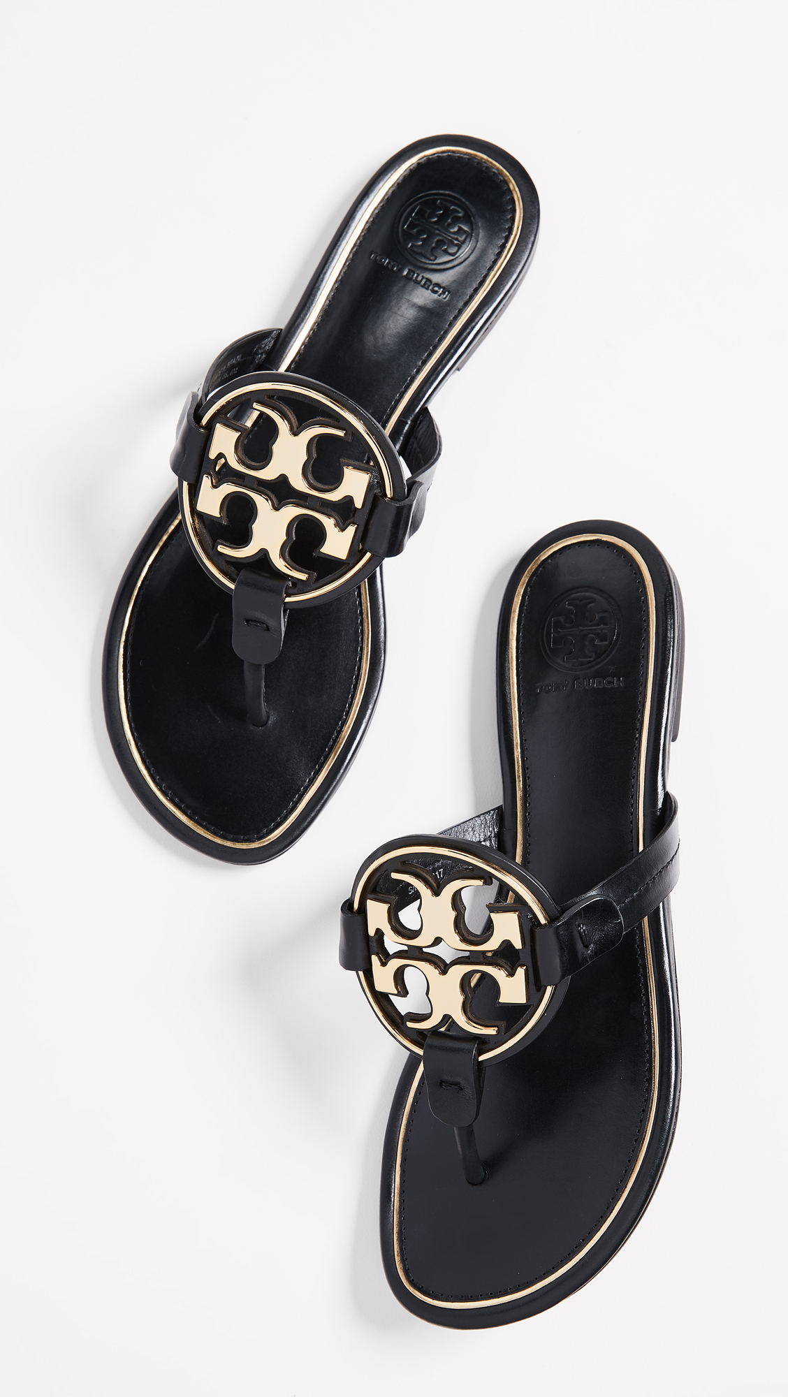 da74296ddfbc43 Tory Burch Miller Metal Thong Sandals