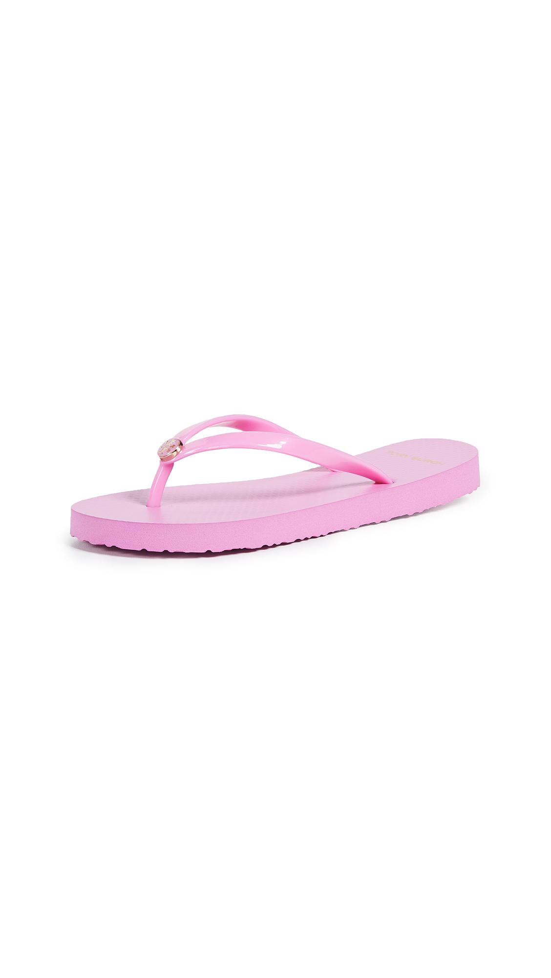 Tory Burch Solid Flip Flops - Magnolia Rosa