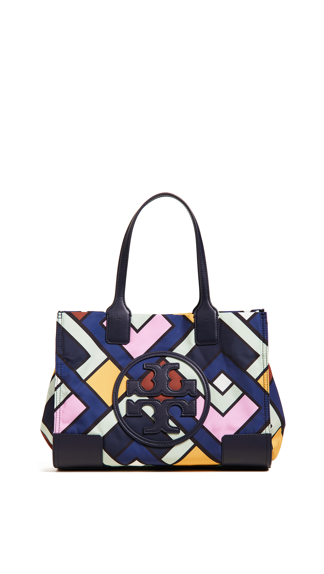 Ella Printed Mini Tote - Blue, Picnic Box