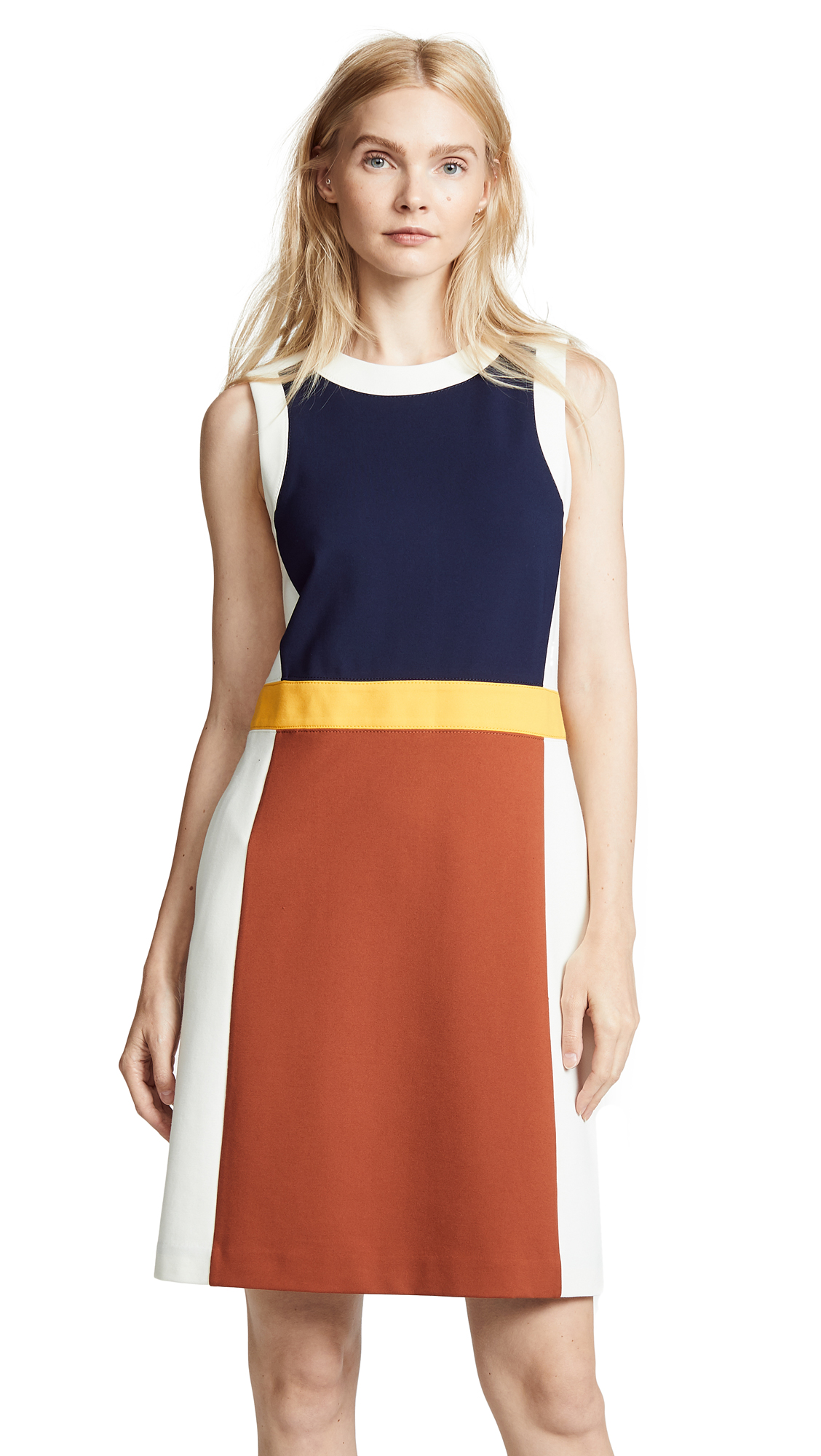 Tory Burch Mya Dress In Desert Spice