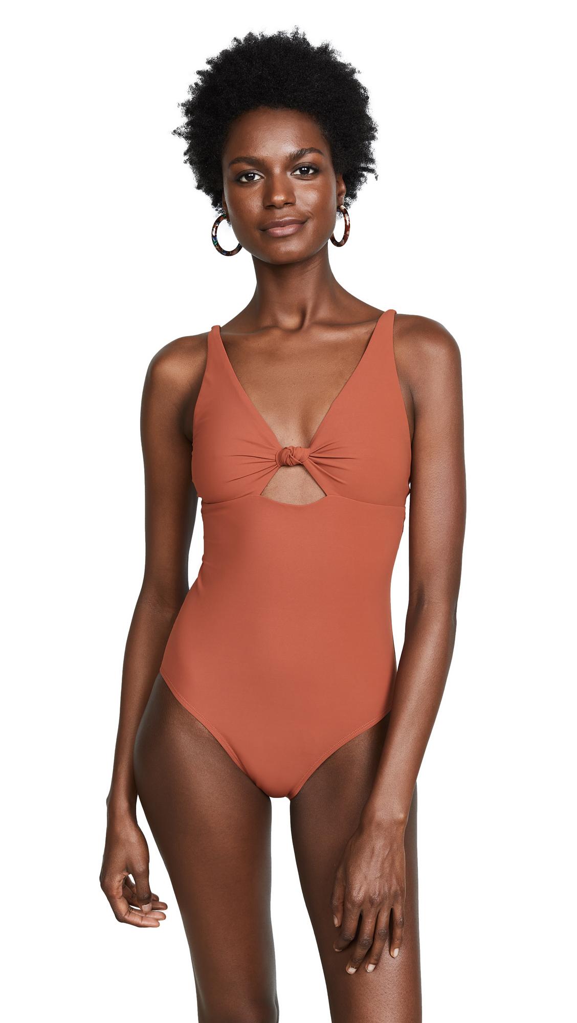 Palma One Piece Swimsuit in Orange