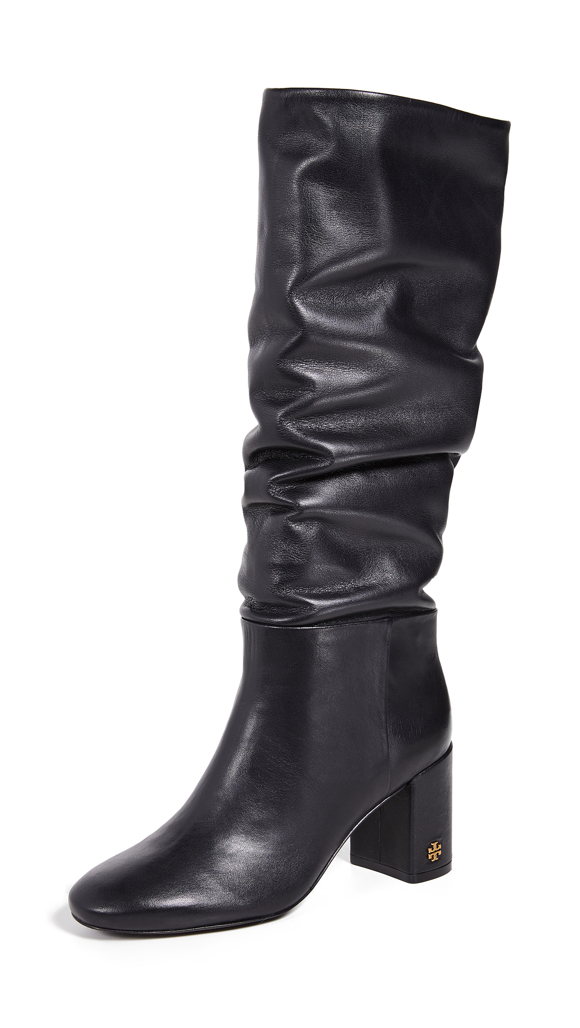 Tory Burch Brooke Slouchy Boots - Perfect Black