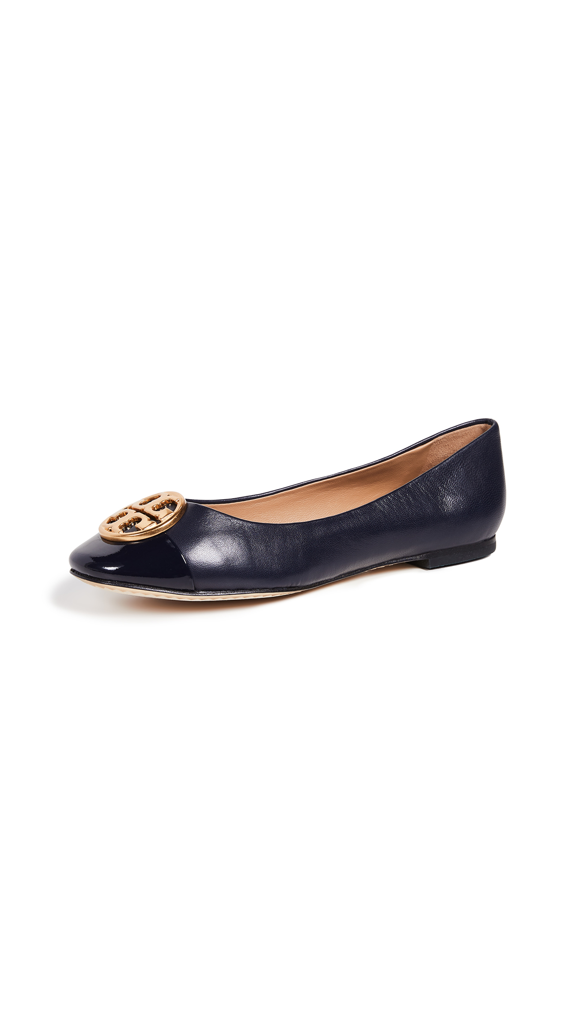 Tory Burch Chelsea Ballet Flats - Perfect Navy