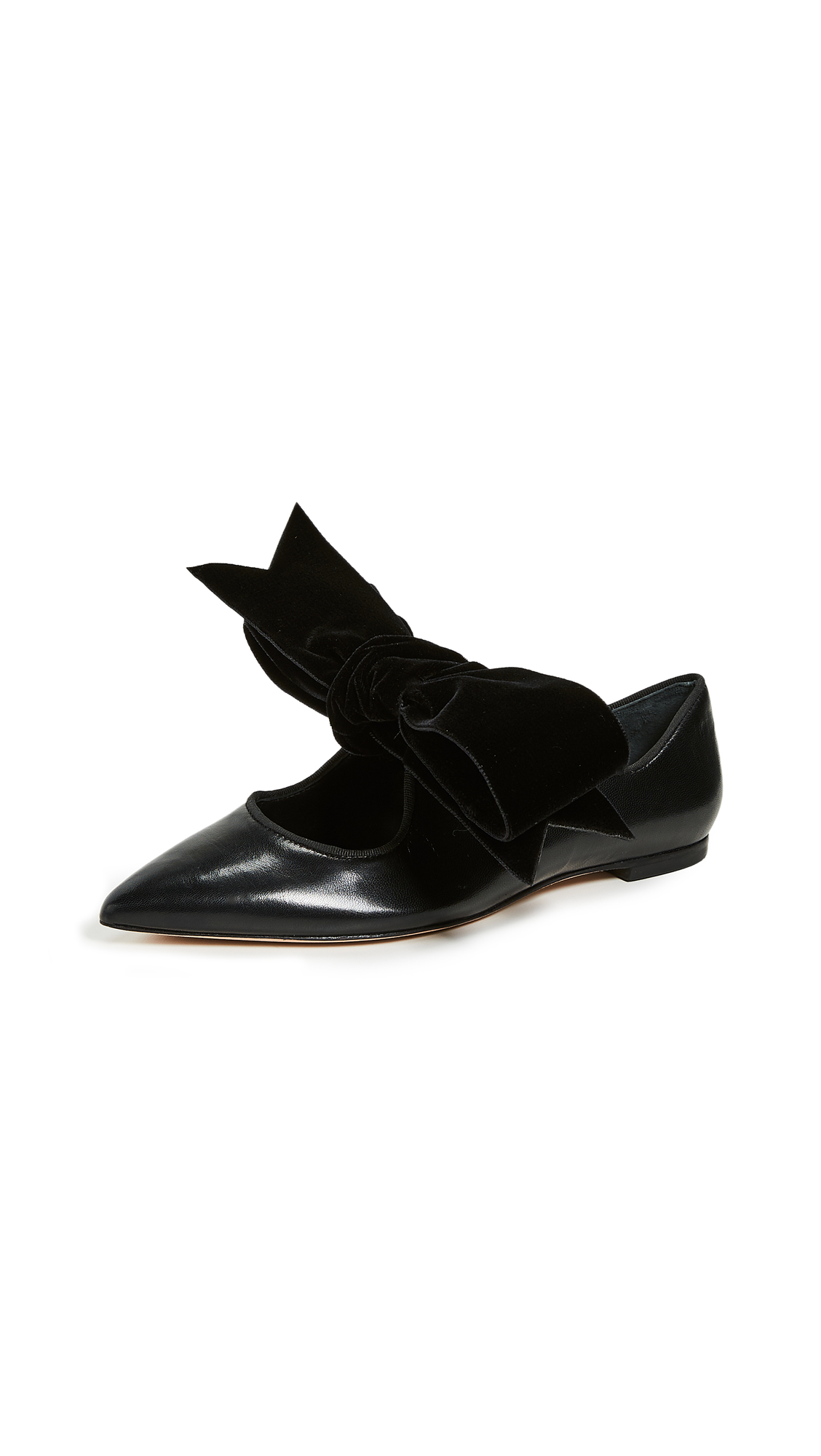 Tory Burch Clara Flats - Perfect Black