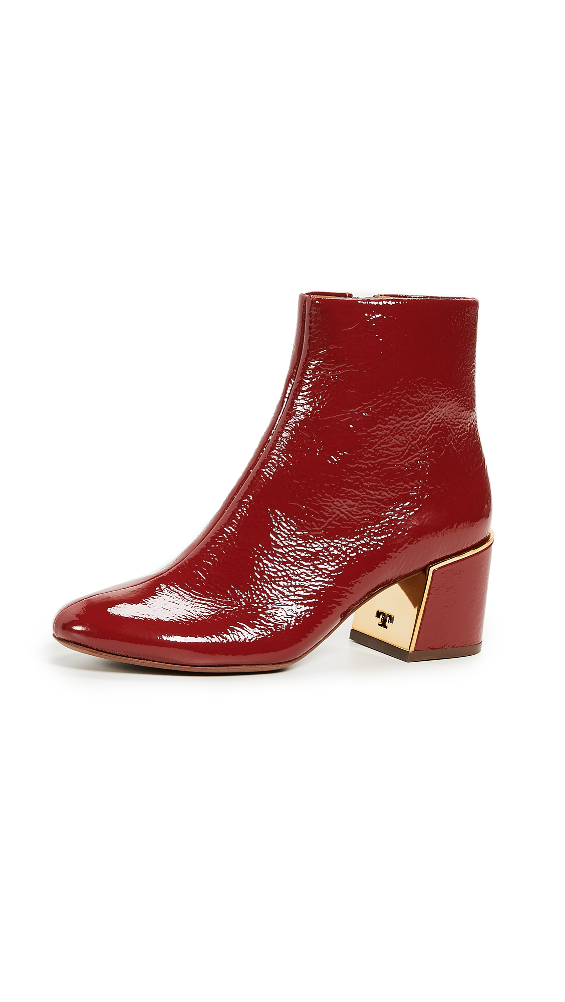Tory Burch Juliana Booties - Dark Redstone