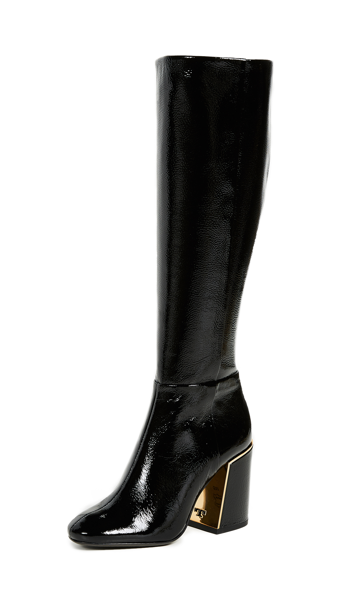 Tory Burch Juliana Tall Boots - Perfect Black