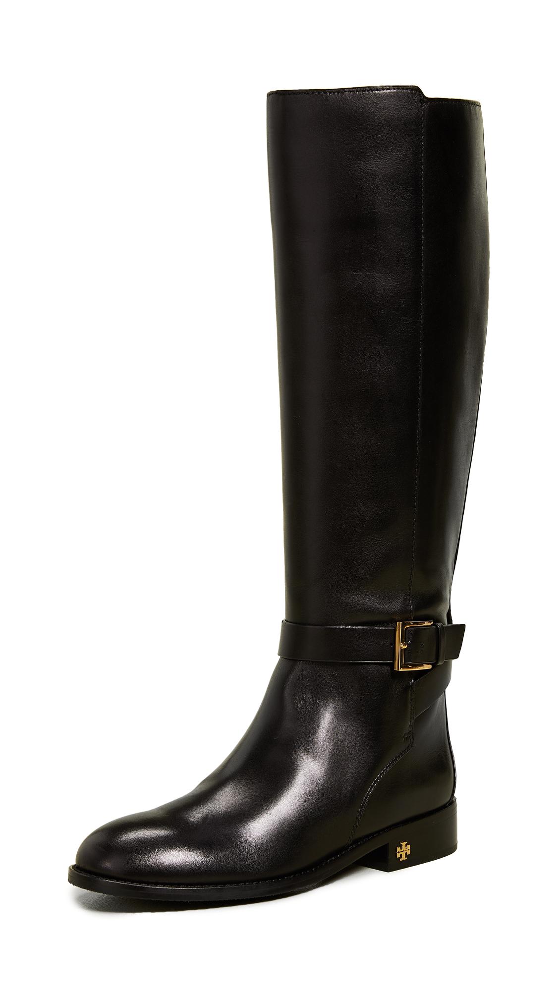 Tory Burch Brooke Tall Boots - Perfect Black