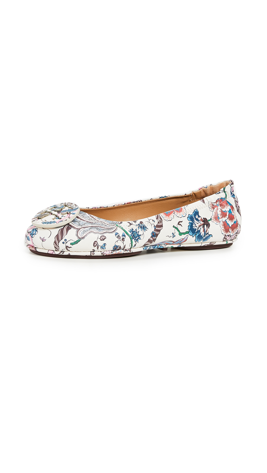 Tory Burch Minnie Travel Ballet Flats - Happy Times