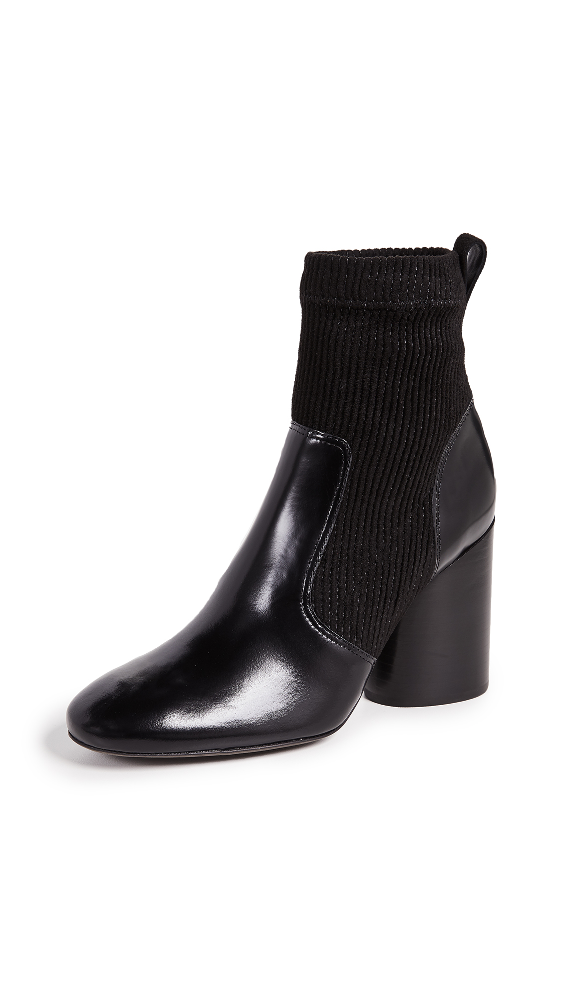 Tory Burch Rowen Booties - Perfect Black