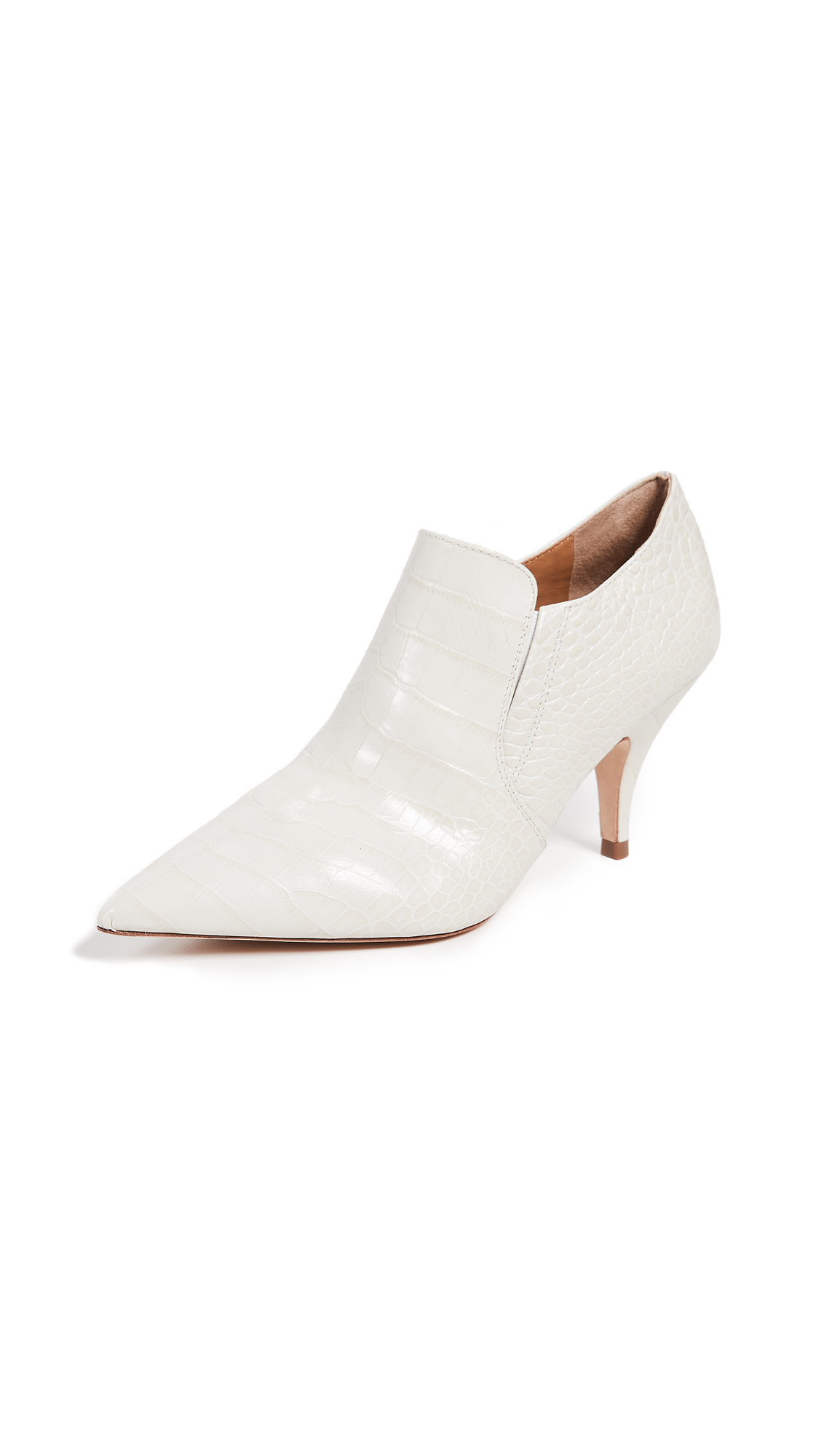 Tory Burch Georgina 80mm Booties - New Ivory