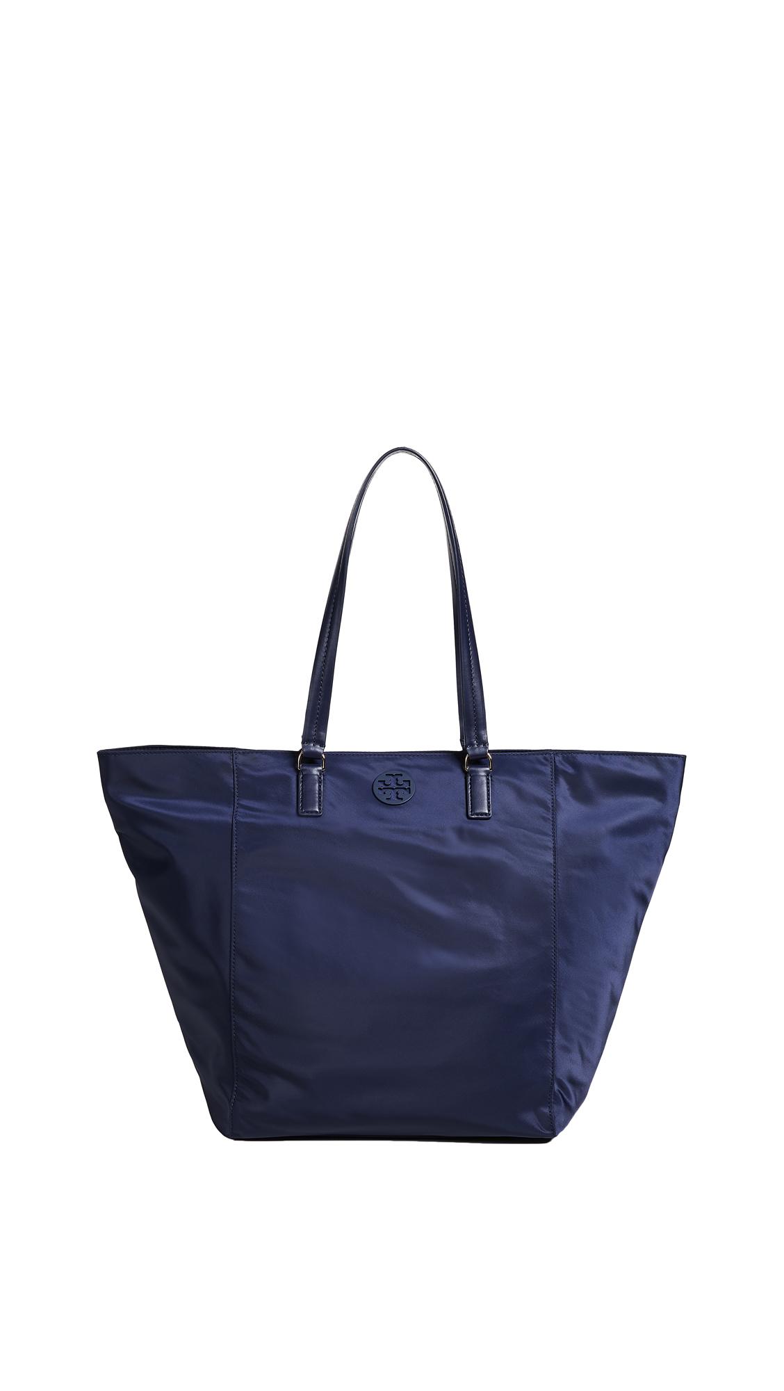 Tilda Nylon Tote - Blue, Tory Navy