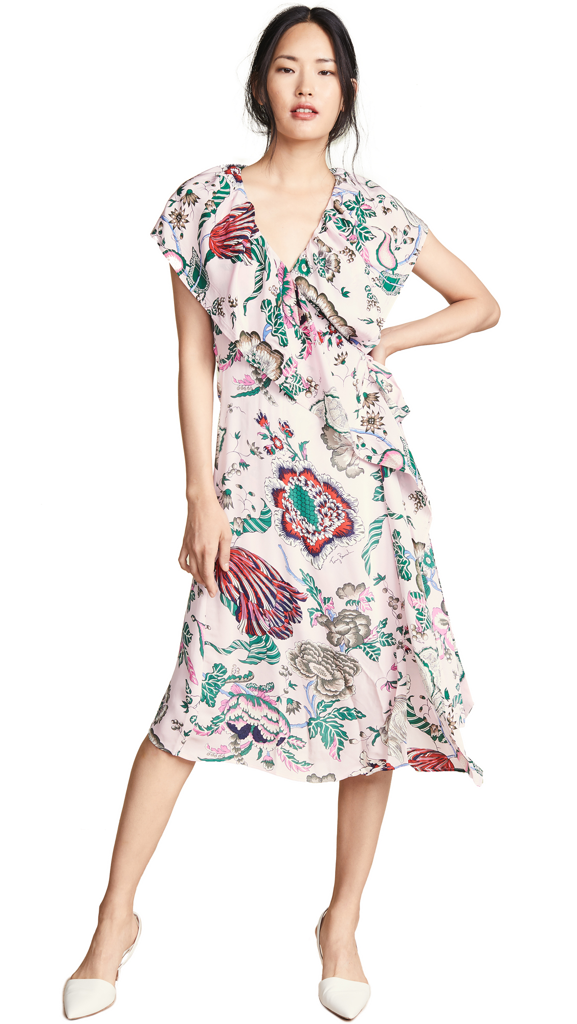 Tory Burch Adelia Dress - Pink Happy Times