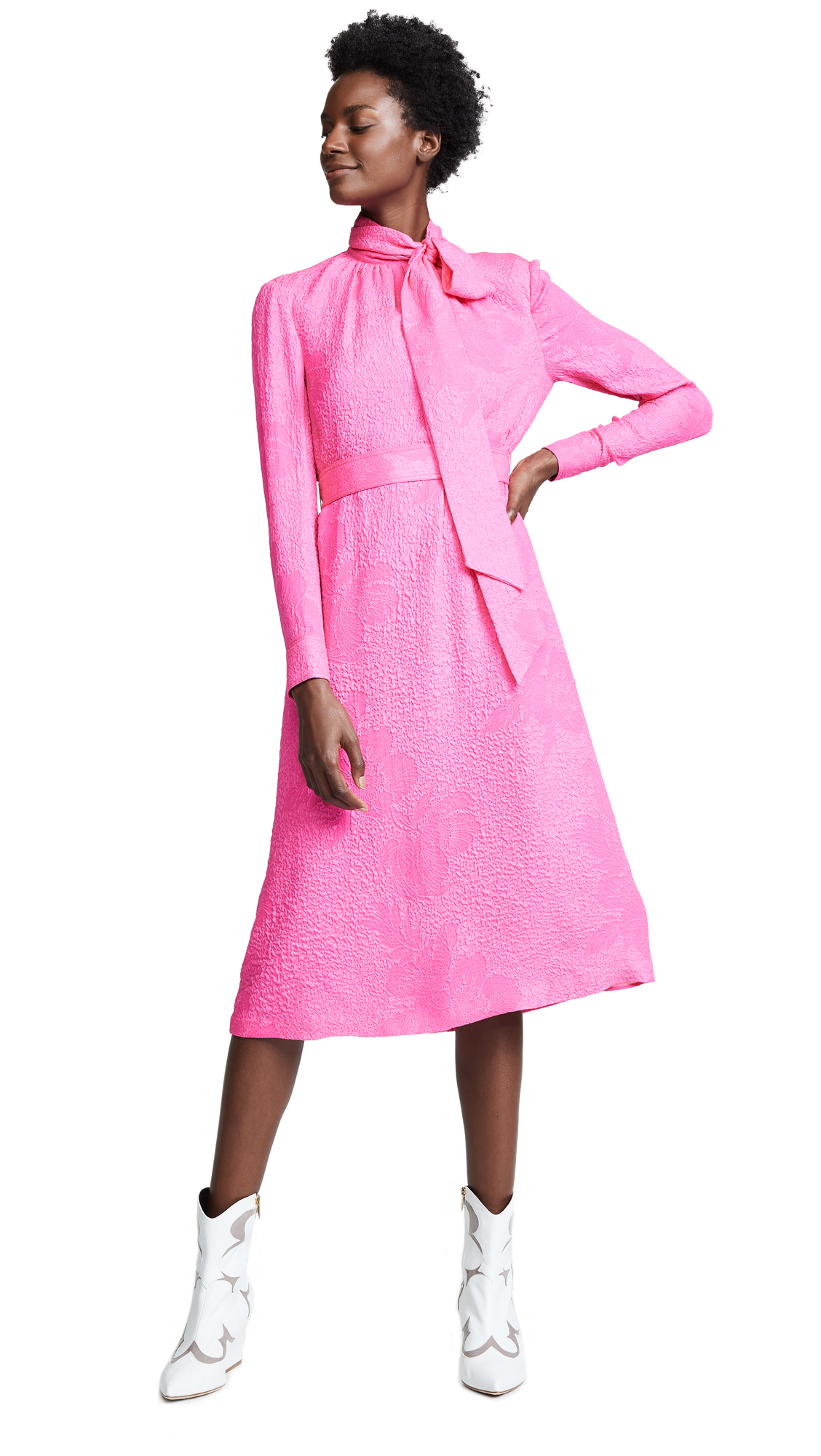Tory Burch Brielle Dress - Crazy Pink