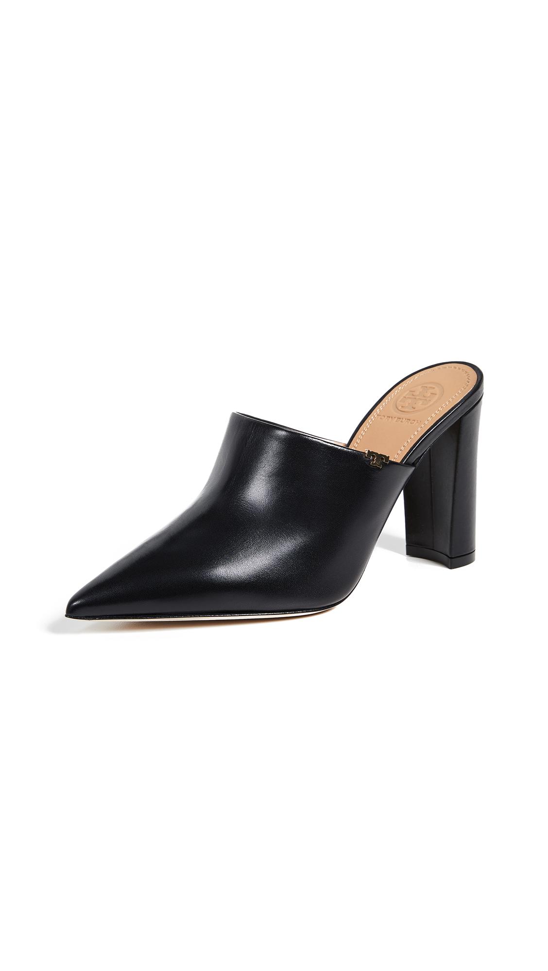 Tory Burch Penelope 90mm Mules - Perfect Black