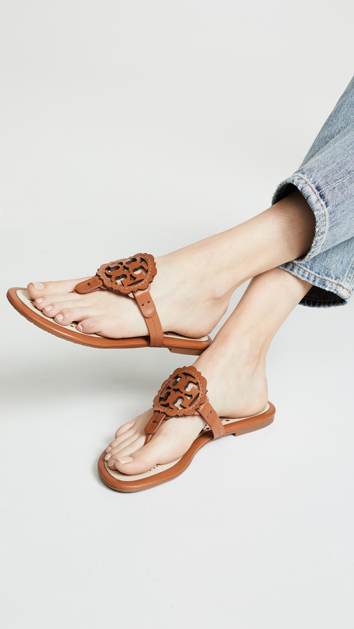 a8cfb4da2 Tory Burch Miller Scallop Sandals | SHOPBOP