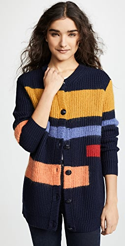 ad65a4aeb11747 MORE18. Tory Burch Wool Colorblock Cardigan