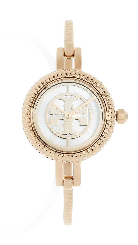 Tory Burch Reva Watch Gift Set, 27mm In Gold/Multi