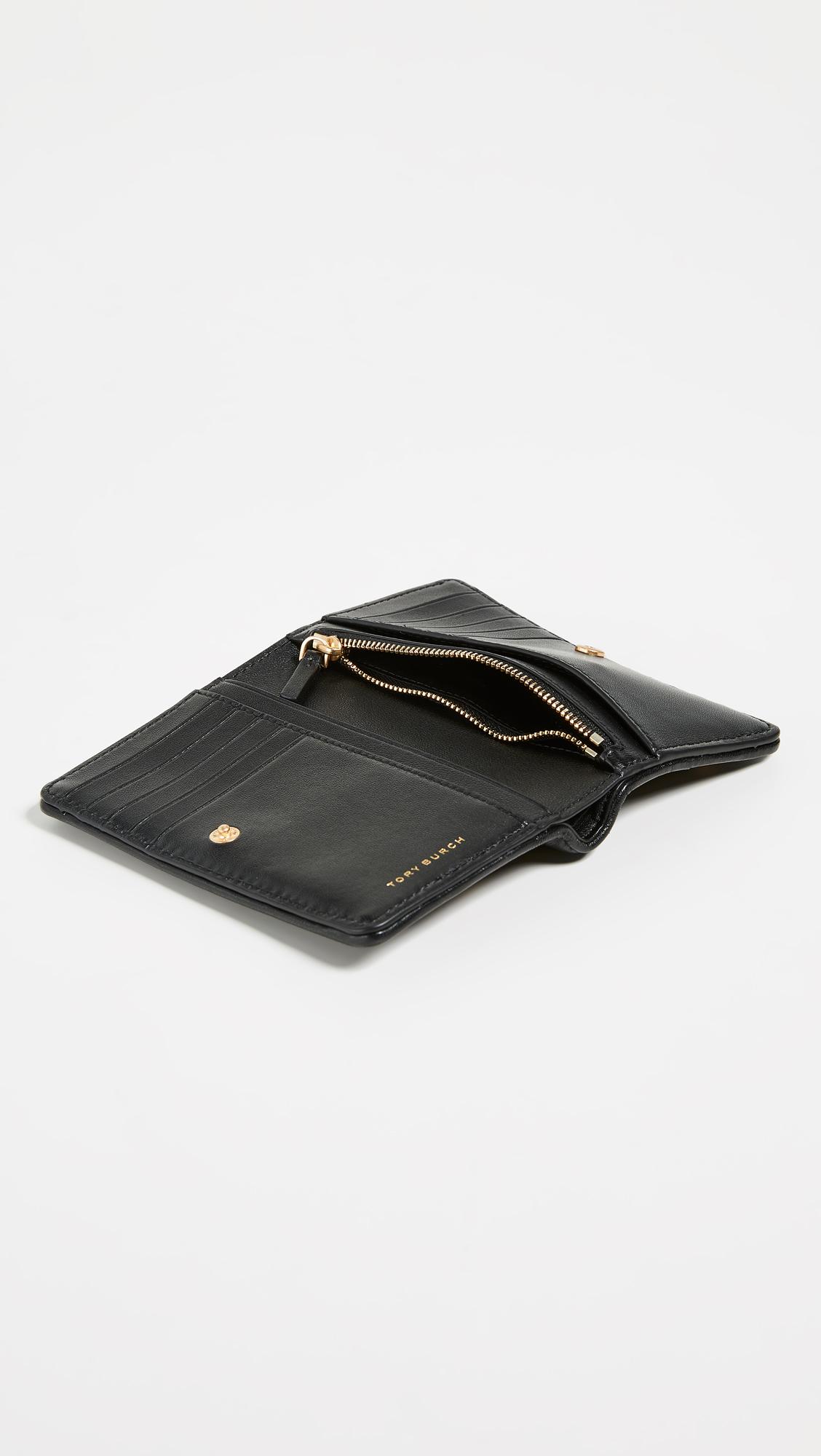 927c5dc1809 Tory Burch Star Stud Slim Medium Wallet