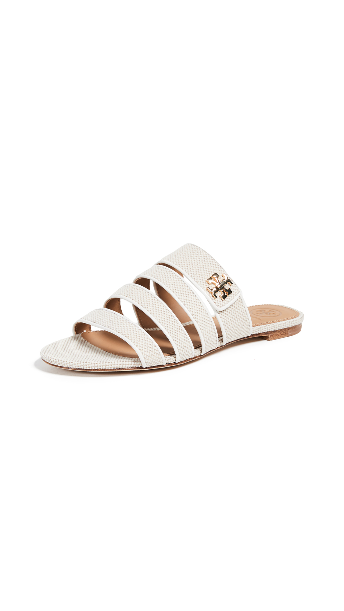 Tory Burch Kira Multiband Sandals - Natural/Perfect Ivory