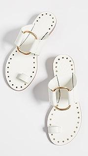 Tory Burch Ravello Studded Sandals