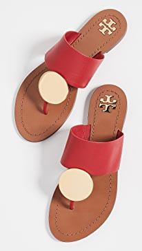 ab619ff46 Tory Burch. Patos Disk Sandals